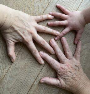 Weltfrauentag Beitrag Hände
