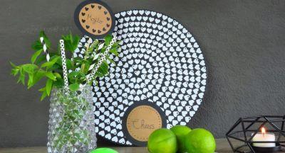 DIY: Pflanzenstecker oder Untersetzer